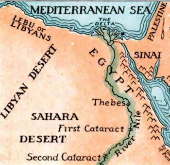 Ancient Egypt Amazing Photos Nile River - Map of ancient egypt first cataract